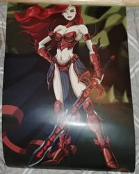 Unarmored Gravelyn Poster by Bowser14456