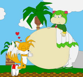 Weight Gain and Stuffing by Bowser14456 on DeviantArt