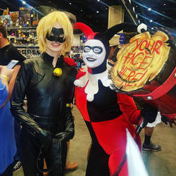 Chat Noir and Harley Quinn