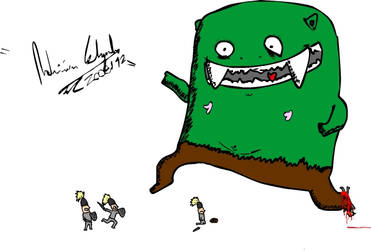 'Happy' Ogre Day by MrSargon