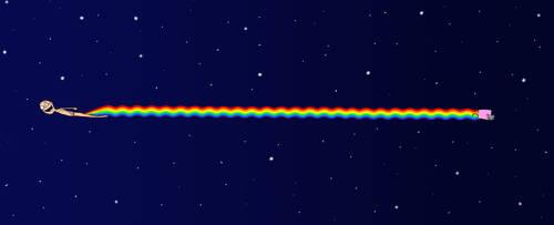 Nyan Scat by MrSargon