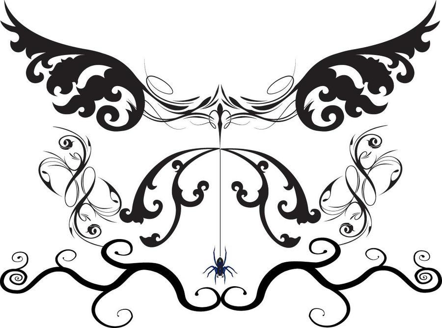 goth tattoo by argentum silva on deviantart. Black Bedroom Furniture Sets. Home Design Ideas