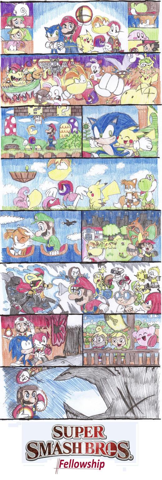 Super Smash Bros. Fellowship by C-Studios