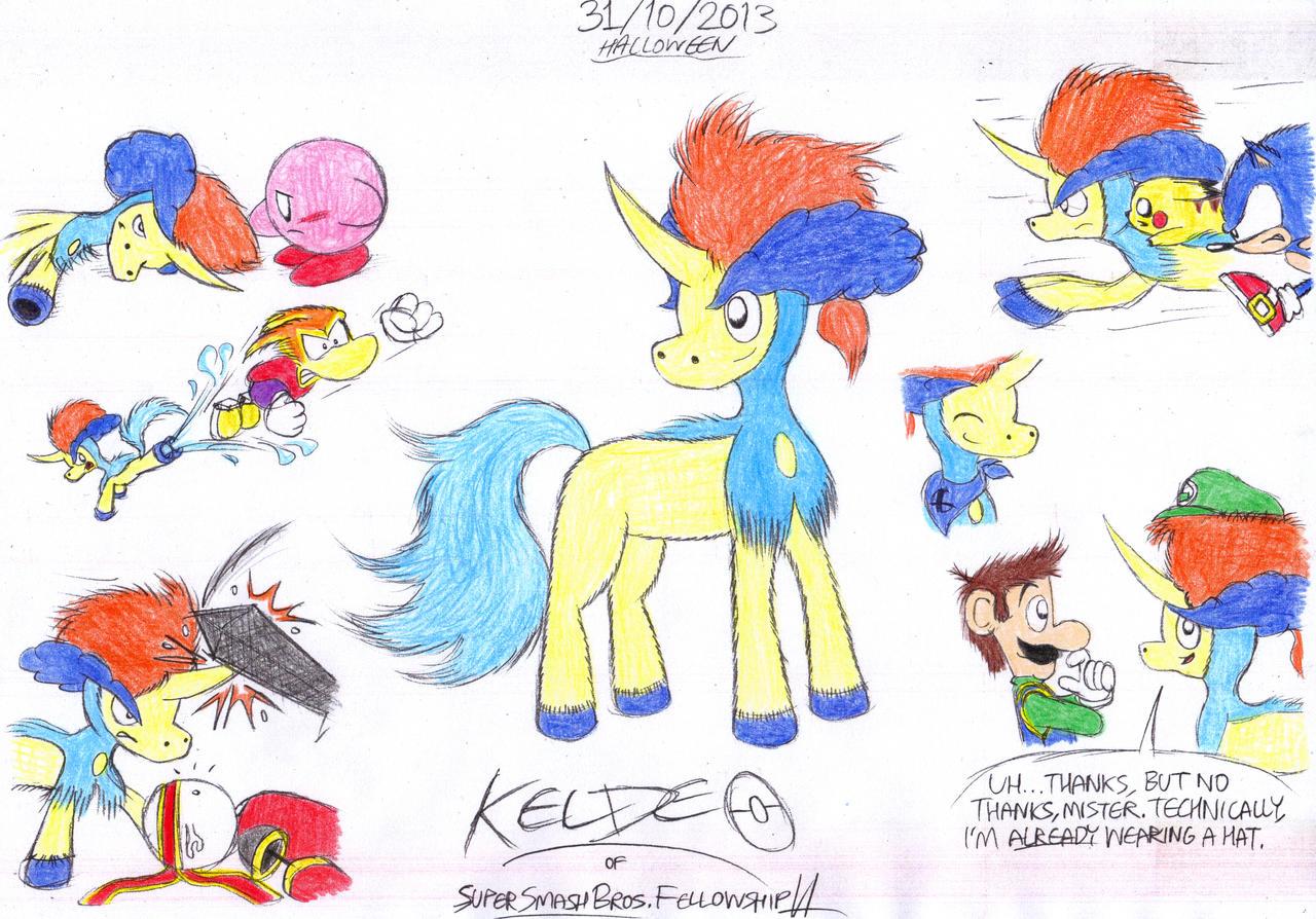 Keldeo Ssbf Studios Deviantart