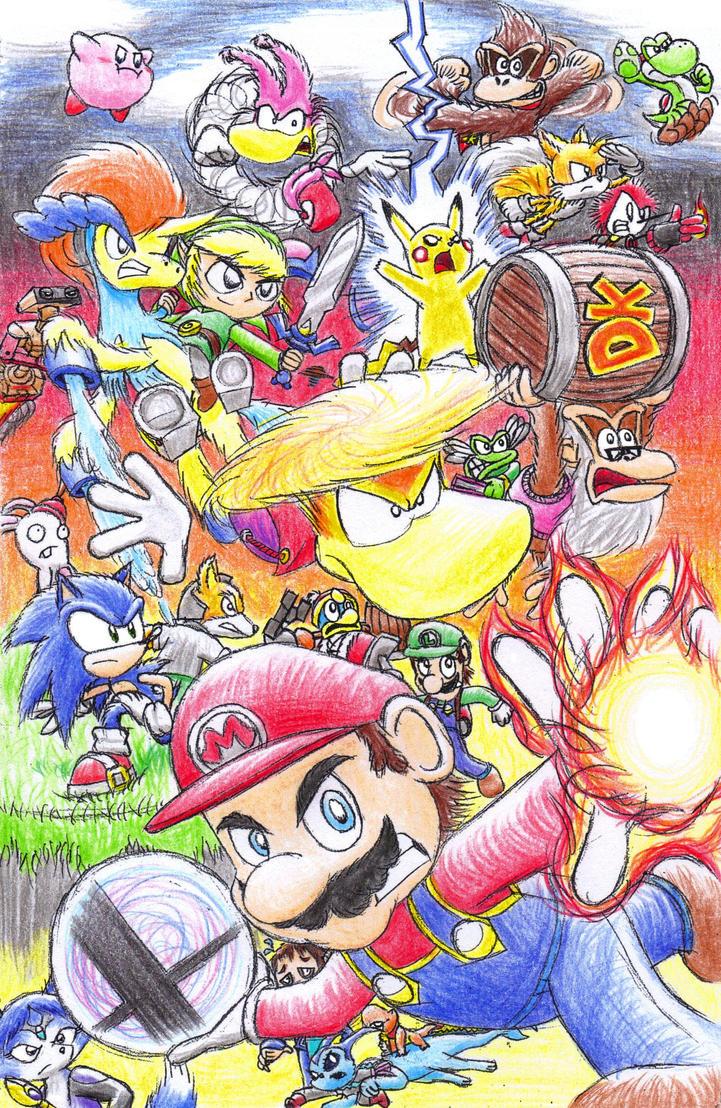 Super Smash Bros. Fellowship 2015 by C-Studios