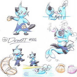 Dewott X Brionne by C-Studios