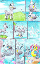 The Zebra and Sea Serpant Pg1 by C-Studios