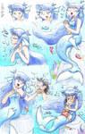 Siren the Bluefish Mermaid