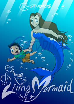 Living with a Mermaid - Digital Front Cover
