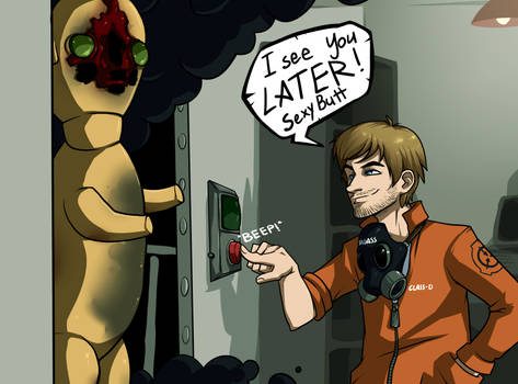 SCP Containment Breach favourites by CallistoVulcan on DeviantArt