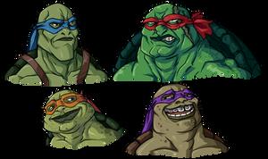 More Beautiful Ninja Turtles
