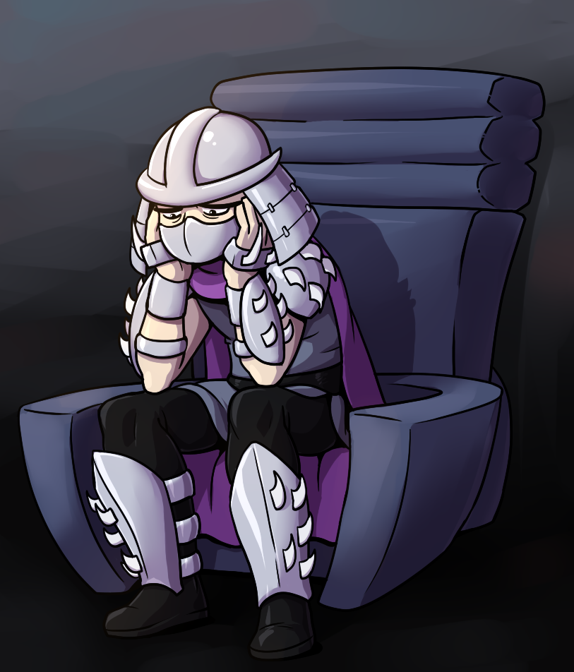 Sad Shredder by RainDante