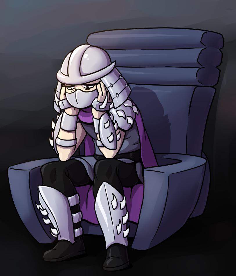 Sad Shredder by RainDante