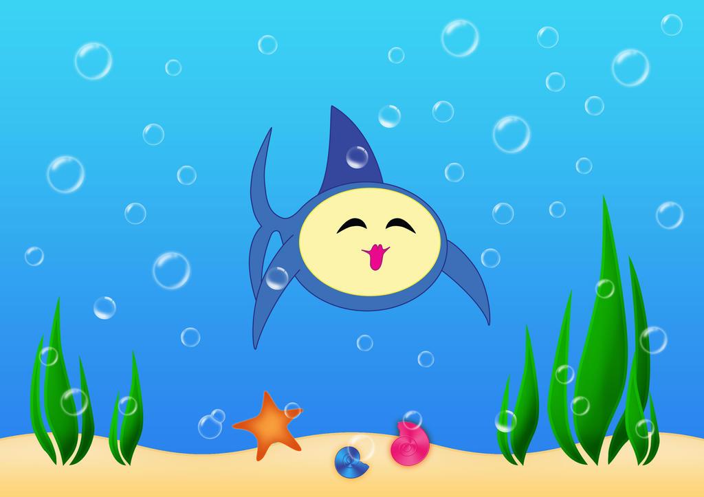[Obrazek: Gul_gul_gul___blue_fish_by_Vovina666.jpg]