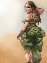 Desert girl by darnasus