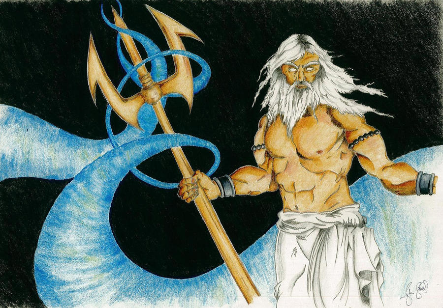 the features of the god poseidon Greek god of the sea poseidon was god of the sea, earthquakes, storms, and horses and is considered one of the most bad-tempered, moody and greedy olympian gods.