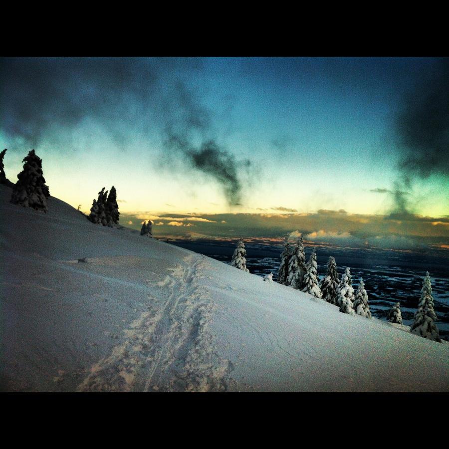 Winter landscape by Cicciobello-BoBo
