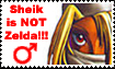 Sheik is NOT Zelda by CandyStriped