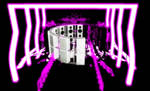 Cool Purple neon stage
