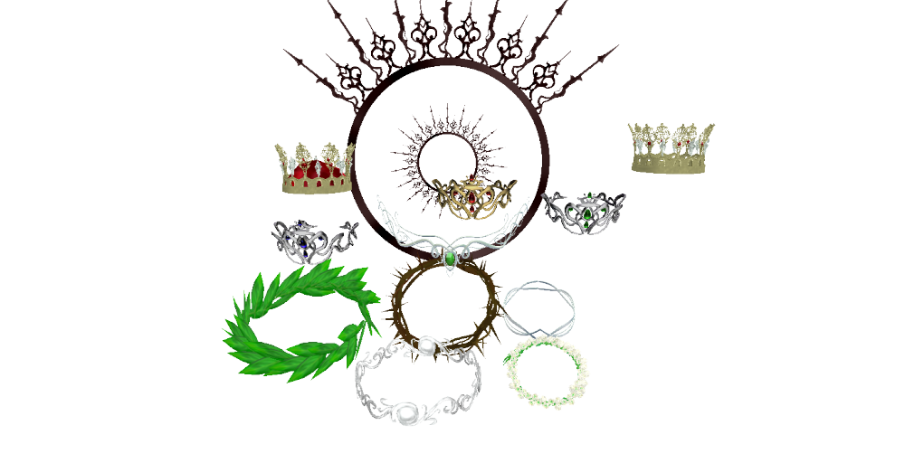 Crown Set by chocosunday