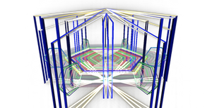 Hexagonal Stage by chocosunday