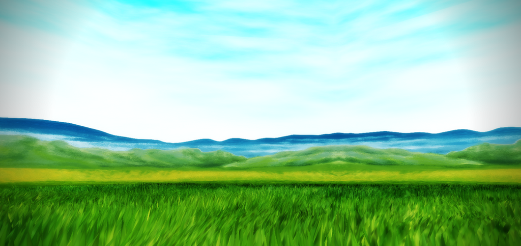 Grassy field stage by chocosunday on deviantart grassy field stage by chocosunday voltagebd Images