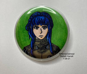 Marianne Badge by NerdyOatmeal