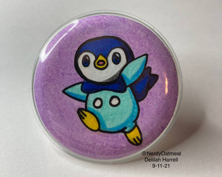 Piplup Badge