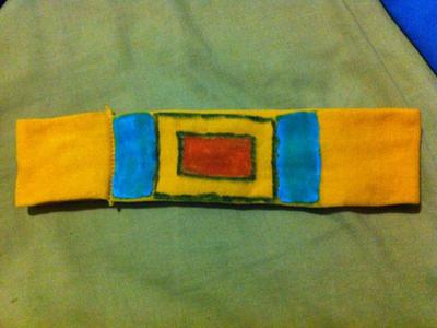 Future Trunks cosplay belt! by ReinandRich