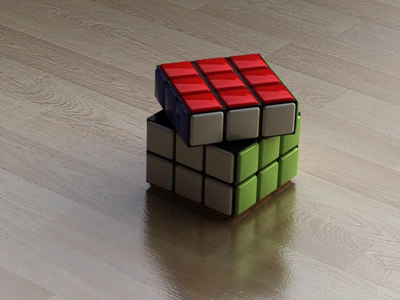 magic cube by myrnART