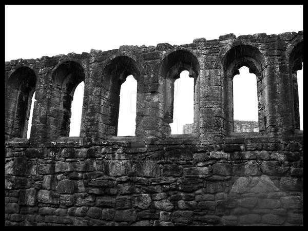 hall byrå ek ~ bothwell castle  great hall i by deathek on deviantart