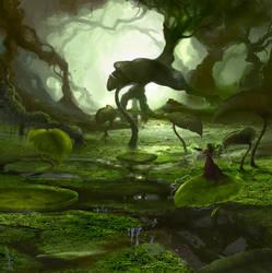 The Great Swamp by firedudewraith