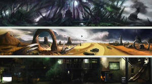 Arena Background by firedudewraith