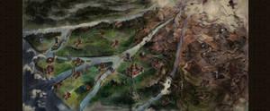 Oriental Game Map