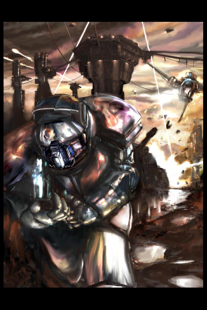 Escape Death III by firedudewraith