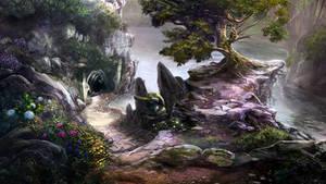 Otherworld - monkey by firedudewraith