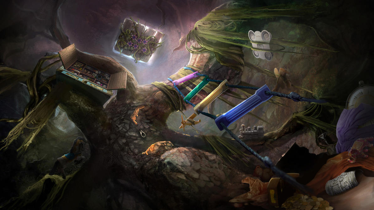 Otherworld - imaginary playground by firedudewraith