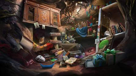 Otherworld - hobgoblin's safekeep home by firedudewraith