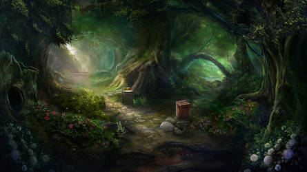 Otherworld - magic forest