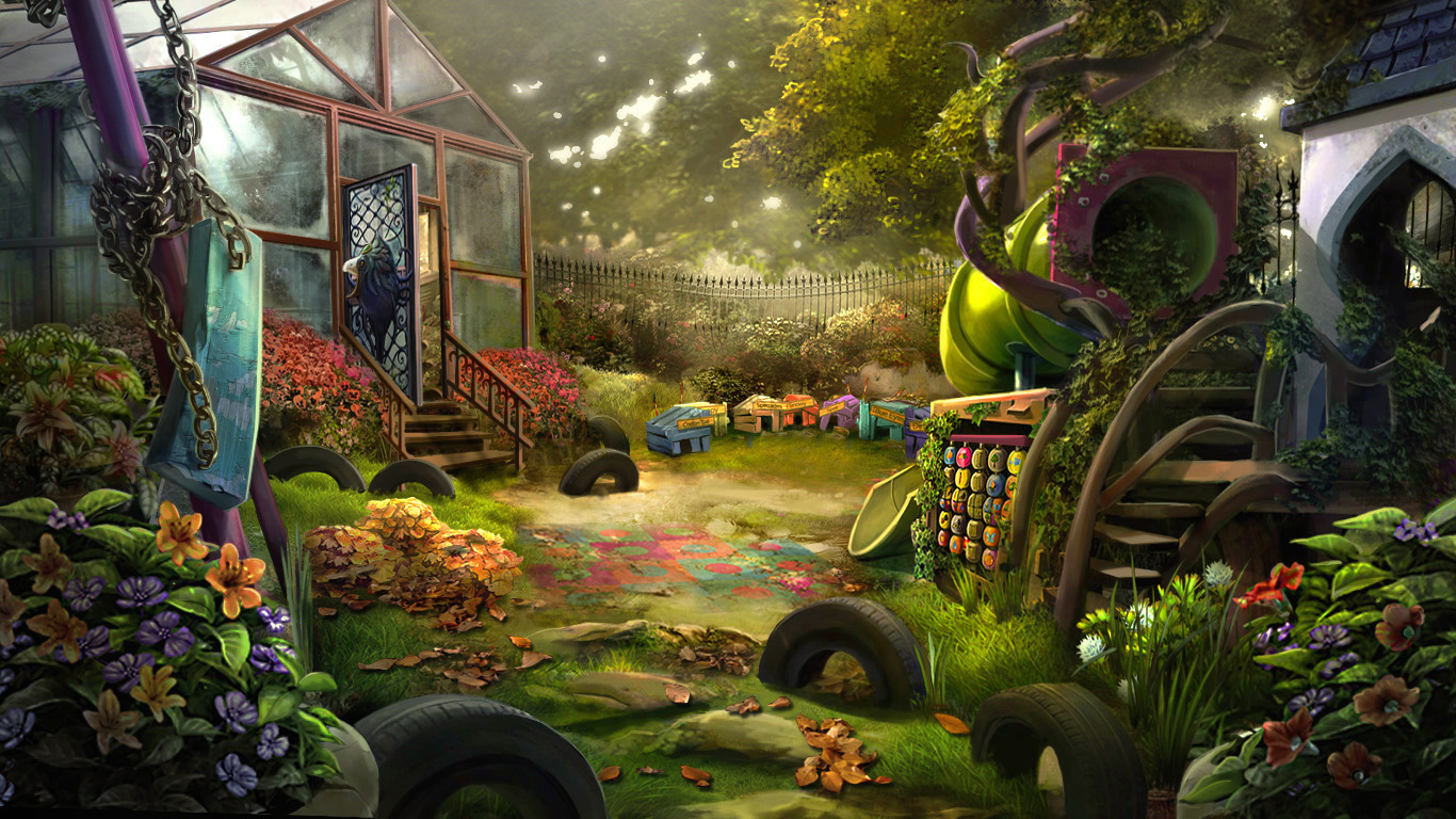 Otherworld 2 - playground by firedudewraith