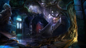 Otherworld 2 - hall by firedudewraith