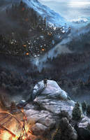 Rise Of Lykos book cover by firedudewraith