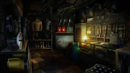 Hellsign - Hunting Store by firedudewraith