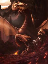 Hellstorm Dragon v2 by firedudewraith
