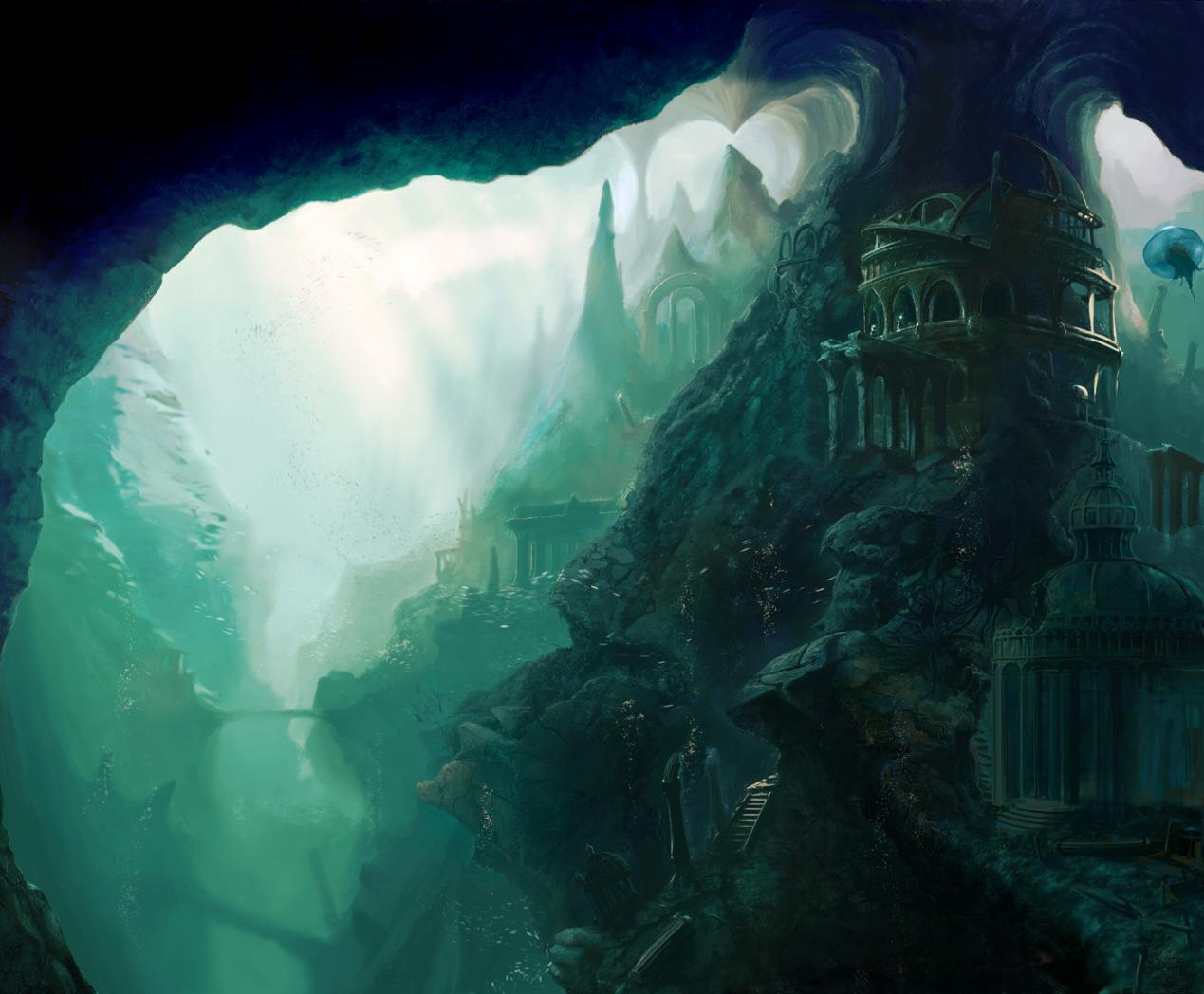 The Forgotten Atlantis by firedudewraith on DeviantArt