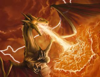 Hellstorm Dragon by firedudewraith