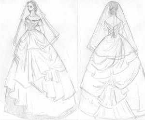 Wedding Dress Draft