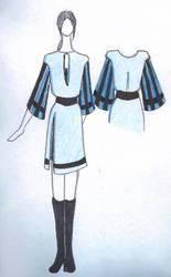 Stripe tunic dress