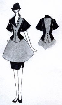 Dress - study in proportion