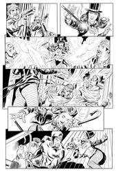 Zatanna Page (Inks over Dean Kotz) by carruthers